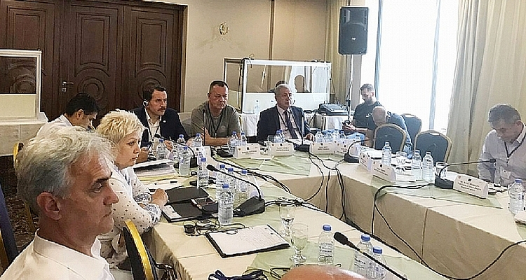 Ali Yalçın Attended a Workshop on ``Working Security`` in Macedonia