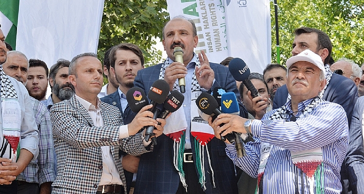 Memur-Sen Organizations Became a Single Voices and Shouted: Al-Quds is Our Honour!