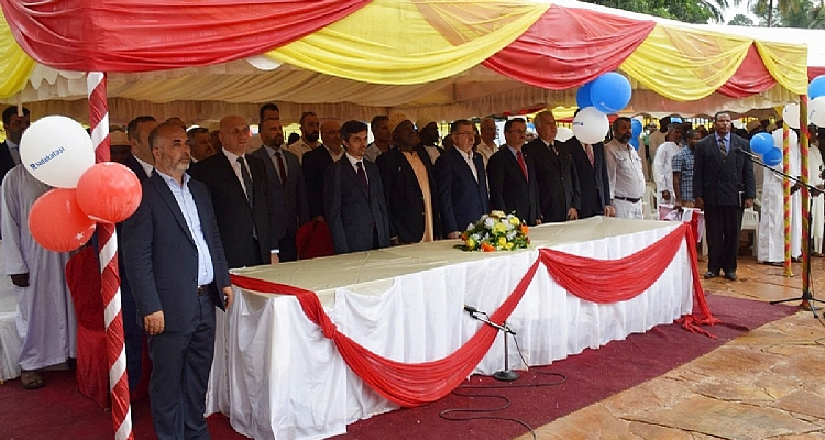 Martyrs` Social Complex was opened in Zanzibar with the participation of Memur-Sen