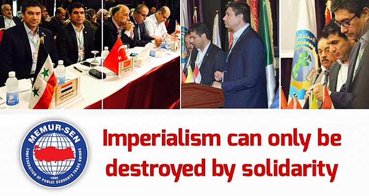 Uslu: Imperialism can only be destroyed by solidarity